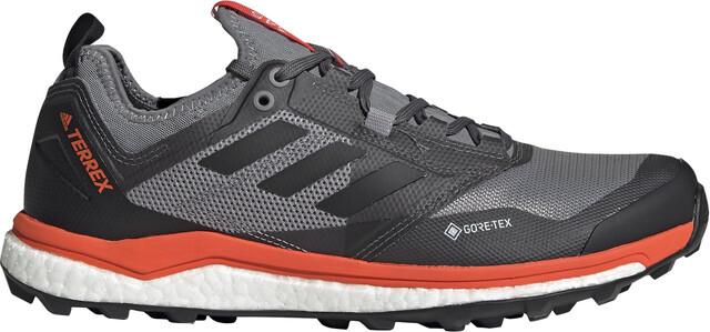 adidas TERREX Agravic XT GTX Schuhe Herren grey fivecore blackactive orange